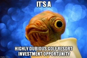 In the rough - 19 year disqualification for golf investment scam directors